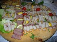 antipasto freddo di pesce - Baglio Strafalcello - 22 giugno 2010  - Castellammare del golfo (8122 clic)