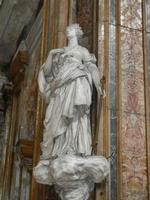 Chiesa SS. Matteo e Mattia Apostoli o Chiesa di San Matteo al Cassaro - interno: La speranza (B. S