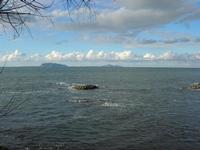 Capo Lilybeo (o Capo Boeo) - panorama fino alle Isole Egadi - 23 gennaio 2011  - Marsala (1045 clic)
