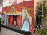 il Teatro delle Marionette  - Via Venza - 20 luglio 2010  - San vito lo capo (1751 clic)