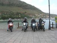 Via Don L. Zangara - 2° MOTORADUNO CITTA' DI CARINI - sosta al Bar Vogue - 28 novembre 2010  - Castellammare del golfo (1407 clic)
