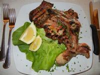 coscia di pollo alla brace - Busith - 5 giugno 2011  - Buseto palizzolo (1230 clic)