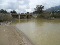 Baia di Guidaloca - il fiume - 17 gennaio 2010  - Castellammare del golfo (1504 clic)