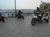 Via Don L. Zangara - 2° MOTORADUNO CITTA' DI CARINI - sosta al Bar Vogue - 28 novembre 2010  - Castellammare del golfo (1424 clic)