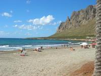 spiaggia e Monte Cofano - 31 luglio 2010  - Cornino (5651 clic)