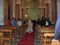 Duomo (sec. XIV) Maria SS. Assunta - interno - matrimonio - 22 giugno 2010  - Erice (4835 clic)