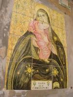 Maria SS. di Conadomini - pannello ceramico - 4 dicembre 2010 CALTAGIRONE LIDIA NAVARRA
