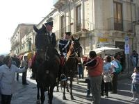 Carabinieri a cavallo - Infiorata 2010 - 16 maggio 2010  - Noto (3728 clic)