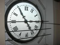 l'orologio del Palazzo VII Aprile - 9 maggio 2010  - Marsala (1935 clic)