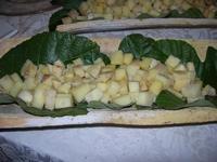 bocconcini di formaggi e melone giallo - Baglio Strafalcello - 22 giugno 2010  - Castellammare del golfo (2994 clic)