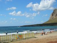 spiaggia e Monte Cofano - 31 luglio 2010  - Cornino (1973 clic)