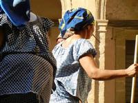 Spettacolo multietnico UNA SOLA FAMIGLIA UMANA nel cortile del Collegio dei Gesuiti - 19 giugno 2011  - Sciacca (567 clic)