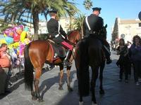 Carabinieri a cavallo - Infiorata 2010 - 16 maggio 2010  - Noto (4629 clic)