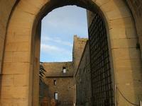 Castello Arabo Normanno - l'ingresso - 9 gennaio 2011  - Salemi (1211 clic)