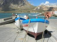 barche in secca - Baia di Cornino e Monte Monaco - 31 luglio 2010  - Cornino (2530 clic)