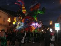 Carnevale - sfilata carri allegorici - 8 marzo 2011  - Cinisi (2232 clic)
