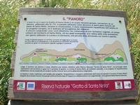 Riserva Naturale Grotta di Santa Ninfa - Il Pianoro - cartello turistico - 6 giugno 2010  - Santa ninfa (2048 clic)