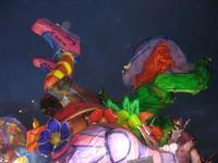 Carnevale - sfilata carri allegorici - 8 marzo 2011  - Cinisi (2113 clic)