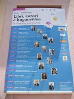 Libri, autori e buganvillee - locandina - 15 luglio 2011  - San vito lo capo (753 clic)