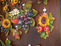 fiori e frutta in ceramica - 10 aprile 2011  - Monreale (4672 clic)