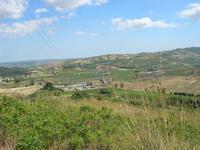 panorama dal Castello di Rampinzeri - Cabina primaria ENEL - 6 giugno 2010  - Santa ninfa (3250 clic)