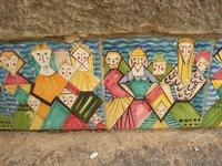 Scala Santa Maria del Monte - particolare - 4 dicembre 2010 CALTAGIRONE LIDIA NAVARRA