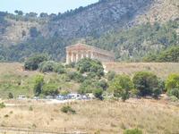 zona archeologica e tempio - 7 luglio 2011  - Segesta (1508 clic)