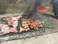 l'ammogghiu per la grigliata di carne - 25 aprile 2010  - Castellammare del golfo (3965 clic)