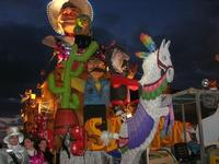 Carnevale - sfilata carri allegorici - 8 marzo 2011  - Cinisi (2147 clic)