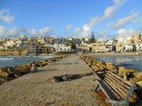 il paese visto dalla passeggiata sul mare - 6 gennaio 2010  - Marinella di selinunte (2212 clic)
