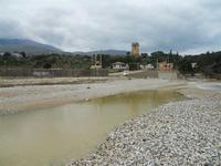 Baia di Guidaloca - la foce del fiume e torre di avvistamento - 17 gennaio 2010  - Castellammare del golfo (1364 clic)