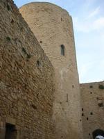 Castello Arabo Normanno - la torre - 9 gennaio 2011  - Salemi (1199 clic)
