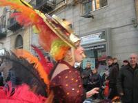 111ª edizione del Carnevale di Sciacca - sfilata corteo mascherato e dei gruppi dei carri allegorici - 6 marzo 2011  - Sciacca (1433 clic)