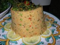 tabulè di verdure - Baglio Strafalcello - 22 giugno 2010  - Castellammare del golfo (4846 clic)