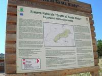 Riserva Naturale Grotta di Santa Ninfa - cartello turistico - 6 giugno 2010  - Santa ninfa (3026 clic)