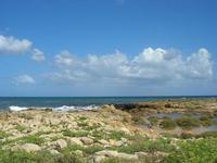 Marina di Cinisi - scogli e mare - 26 settembre 2010  - Cinisi (3470 clic)