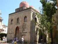 Chiesa di S. Maria dell'Ammiraglio o San Nicolò dei Greci, detta Martorana - 8 agosto 2011 PALERMO L
