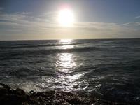 riflessi di sole sul mare - 6 gennaio 2010  - Marinella di selinunte (3539 clic)