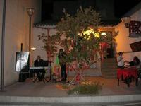 Francesco Rizzomani (piano e voce) e Lorenzo Barbuto (sax) - Parole in Musica - Tutti i sensi che ho - ROSSO DISTRATTO - Festival degli Artisti a cura del Gruppo Archeologico Xaipe - 12 agosto 2010  - Salemi (1472 clic)