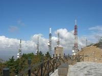 antenne in cima al Monte Bonifato - 25 luglio 2010    - Alcamo (1760 clic)