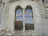 Castello Arabo Normanno - bifora - 9 gennaio 2011  - Salemi (1215 clic)