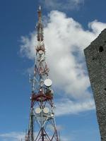 antenna in cima al Monte Bonifato - 25 luglio 2010    - Alcamo (1746 clic)
