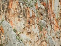 free climbing - falesia all'Isulidda - 1 maggio 2011  - Macari (1373 clic)