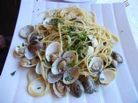 spaghetti alle vongole - La Cambusa - 31 agosto 2011  - Castellammare del golfo (757 clic)