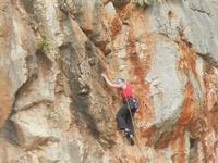 free climbing - falesia all'Isulidda - 1 maggio 2011  - Macari (1684 clic)