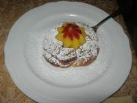 zeppola alla crema d'arancia e marmellata di ciliege - Due Palme - 20 febbraio 2011  - Santa ninfa (1496 clic)
