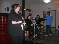 Presentazione del Connubio RizzoMani - Parole in Musica - Francesco Gallina e Donatella Piras - presso la Sala Convegni dell'Istituto Suore Francescane S. Chiara - 24 aprile 2010  - Corleone (4268 clic)