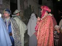 L'arrivo dei Re Magi - 6 gennaio 2011  - Guarrato (1889 clic)