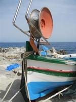 Tonnara del Secco - particolare di barca di pescatori - 19 luglio 2011  - San vito lo capo (659 clic)