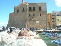 Castello a Mare - porto - 21 febbraio 2010   - Castellammare del golfo (1553 clic)